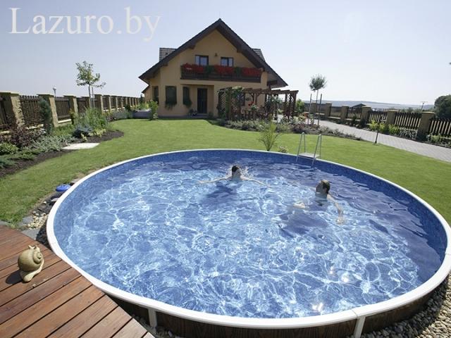 Каркасный бассейн Azuro 406 DL Mountfield